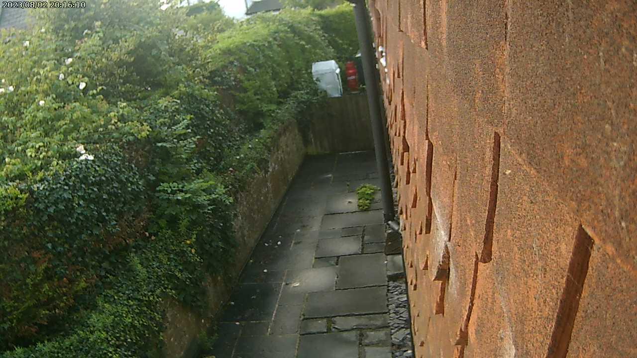 Hamble garden view